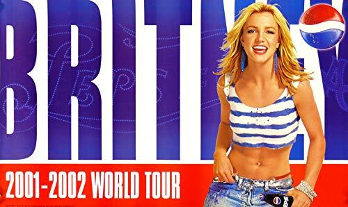 Britney Spears Pepsi World Tour 2001-2002 Pepsi 17