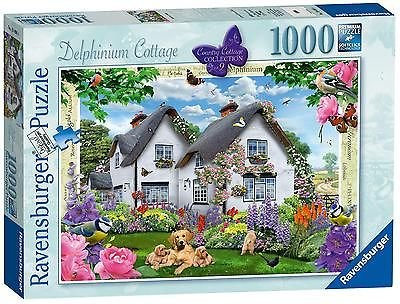 Ravensburger Country Cottage Collection No.9 - Delphinium Cottage, 1000pc Jigsaw Puzzle (Cottage Collection The)
