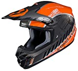 HJC Helmets Unisex-Adult Off-Road-Helmet-Style CS-MX II Star Wars Rebel X-Wing (Black/Orange, X-Large)