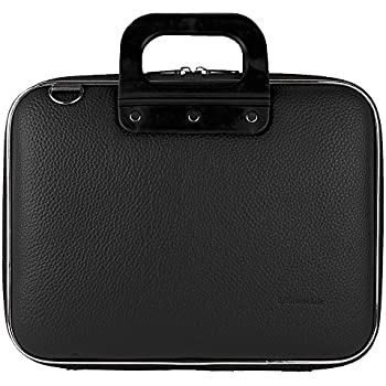 """Black Shoulder Bag Briefcase for DBPower 9.5-Inch 10.5"""" Portable DVD Player with Rechargeable Battery, SD Card Slot and USB Port"""