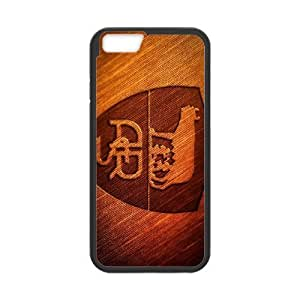 Plastic Case Slyage iPhone 6s 4.7 Inch Cell Phone Case Black As Roma Logo Generic Design Back Case Cover