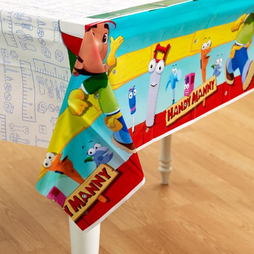 Hallmark - Disney Handy Manny Tablecover (Handy Manny Birthday Supplies compare prices)