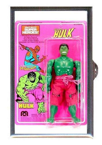 The Incredible Hulk, Mego 1978, Image on Guitar Pick or Pill Box USA - 1978 Pick