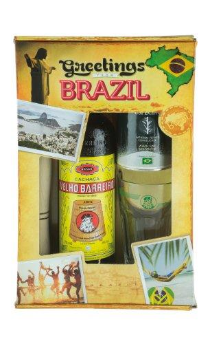 Caipirinha-Set GREETINGS FROM BRAZIL Caipi Set Brasil