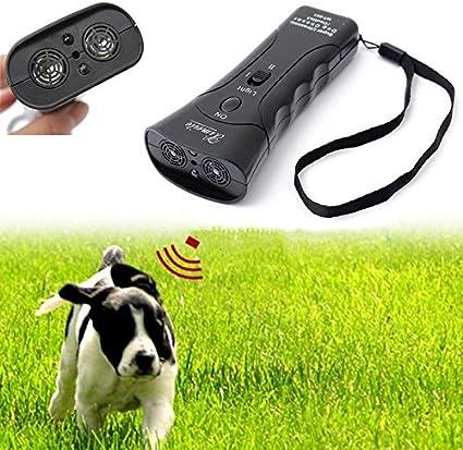 KSTE Ultraschall-Absto/ßen Hunde Elektronische Training Tools Dog Chaser Stoppen Aggressive Tier Angriffe
