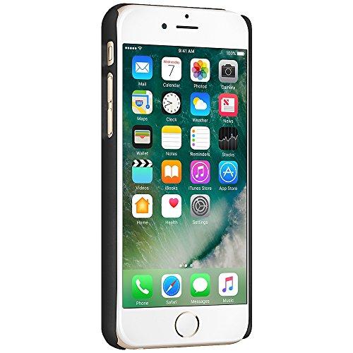 Amzer shellster Coque rigide avec béquille intégrée pour Apple iPhone 7Plus–Noir