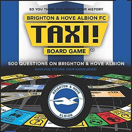 Brighton and Hove Albion Taxi Board Game