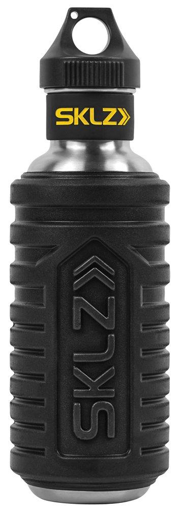 SKLZ Hydro-Roller - Stainless Steel Water Bottle with High Density Foam Roller Exterior