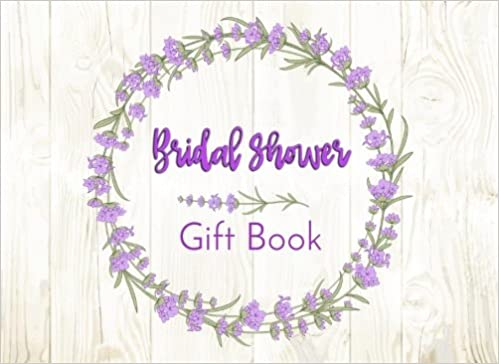 bridal shower gift book gift log guest book dartan creations 9781977518415 amazoncom books