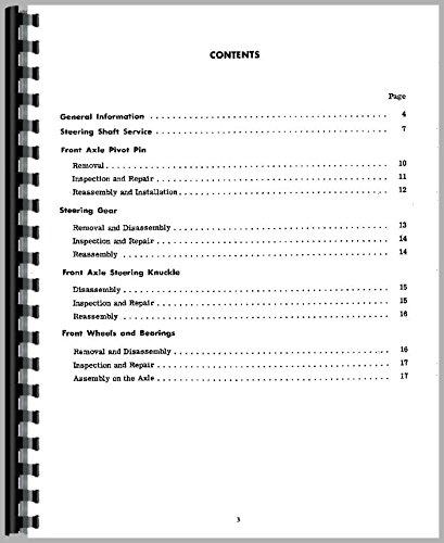 (International Harvester 424 Tractor Service Manual)