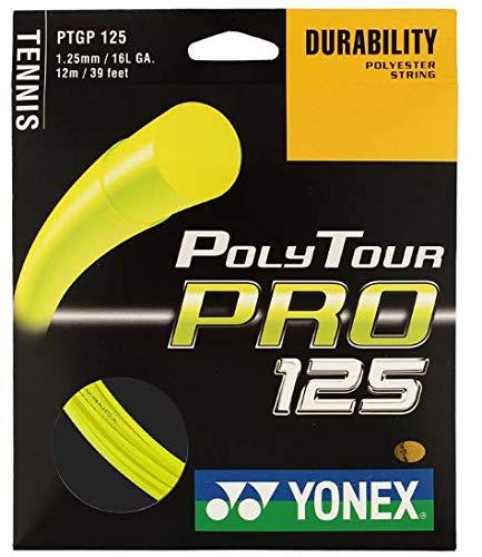Pro Tennis String - Yonex Poly Tour Pro 125 16L Tennis String