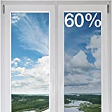 BDF NC60 Window Film Premium Transparent Heat Control & UV Cut Nichrome 60 (36'' X 25ft)