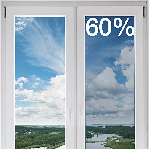 BDF NC60 Window Film Premium Transparent Heat Control & UV Cut Nichrome 60 (36