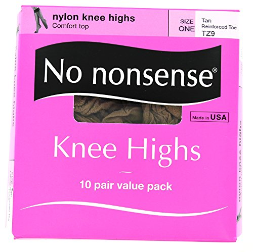 No Nonsense Size Knee Highs product image