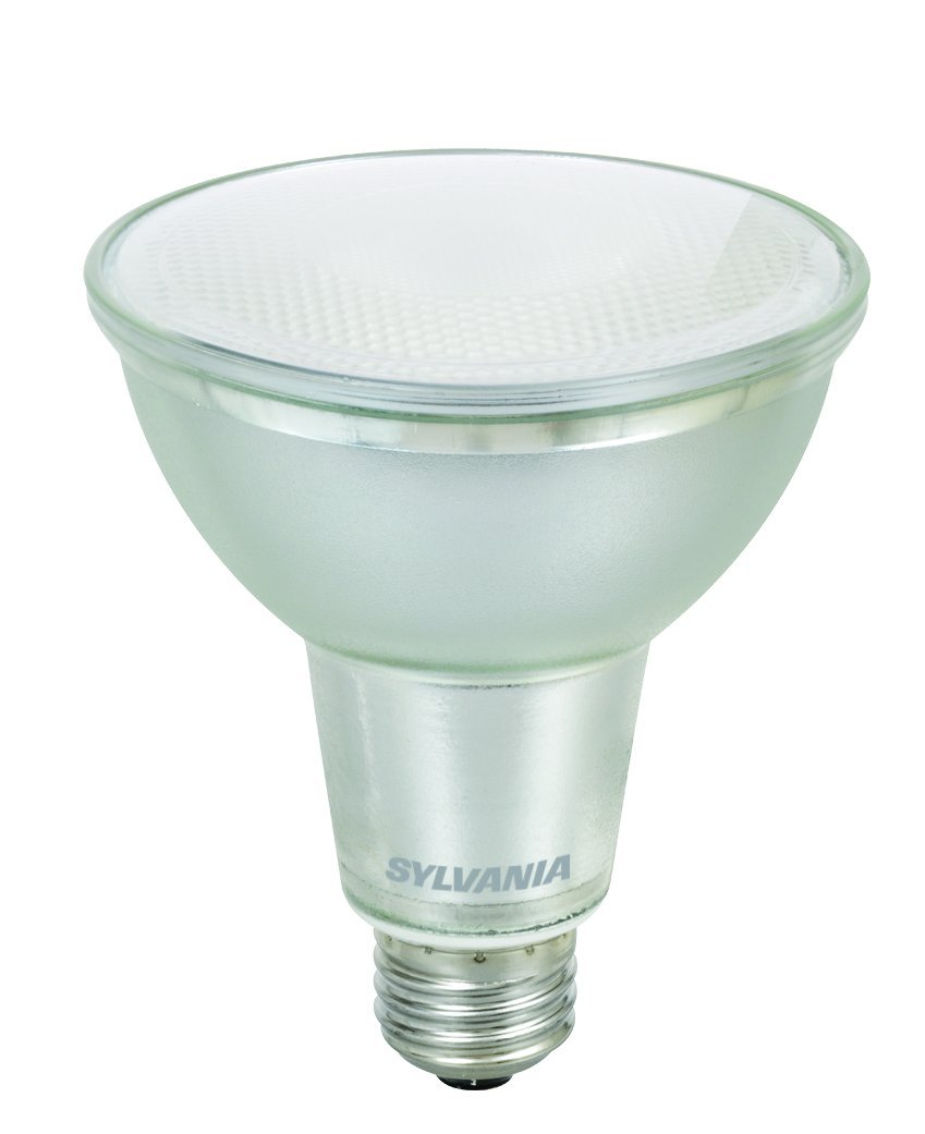 Cool White 13W 75W equivalent 5000K Medium Base 900 lumen SYLVANIA LED PAR30 Reflector Lamp E26 1-pack 74060
