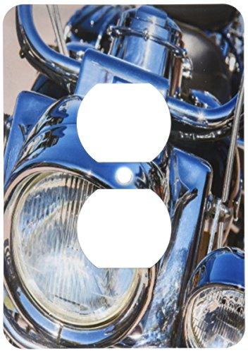 3dRose lsp_210257_6 Usa, Florida, Daytona Beach, Harley Davidson Bike, Week. - 2 Plug Outlet Cover by 3dRose