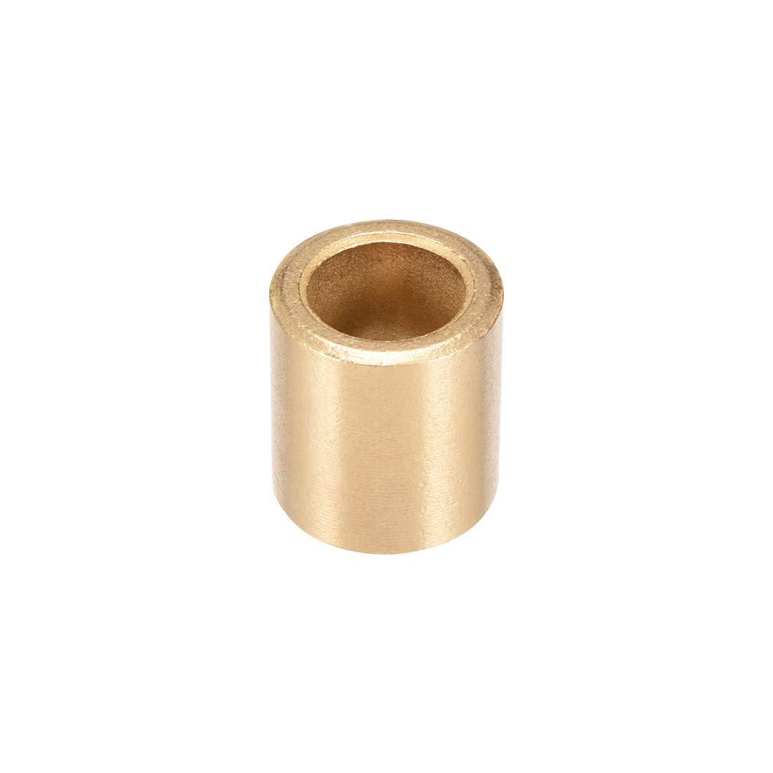 Bearing Bush 12 mm Diameter x 18 mm Outside Diameter x 10 mm Length Self-lubricating sintered Bronze bushings