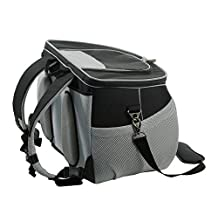 One for Pets The EVA Backpack Pet Carrier, Small, Black Airline Approved Size