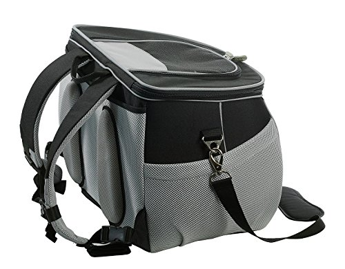 Dog Carrying Backpack for Small To Medium Dogs & Cats, Airline Approved Pet Backpack, Dog Backpack for Hiking & Travel
