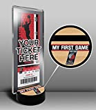 Portland Trail Blazers My First Game Ticket Display Stand