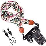 Wolven Soft Scarf Camera Neck Shoulder Strap Belt for All DSLR/SLR/Digital Camera (DC)/Instant Camera/Polaroid etc, Pattern 04