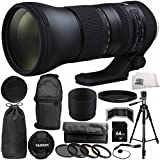 Tamron SP 150-600mm f/5-6.3 Di VC USD G2 for Nikon F 14PC Accessory Bundle - Includes 4PC Warming Filter Kit + MORE - International Version (No Warranty)