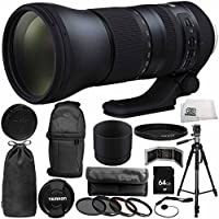 Tamron SP 150-600mm f/5-6.3 Di VC USD G2 for Nikon F 14PC Accessory Bundle - Includes 4PC Warming Filter Kit + Variable Neutral Density Filter (ND2-ND400) + Backpack + MORE