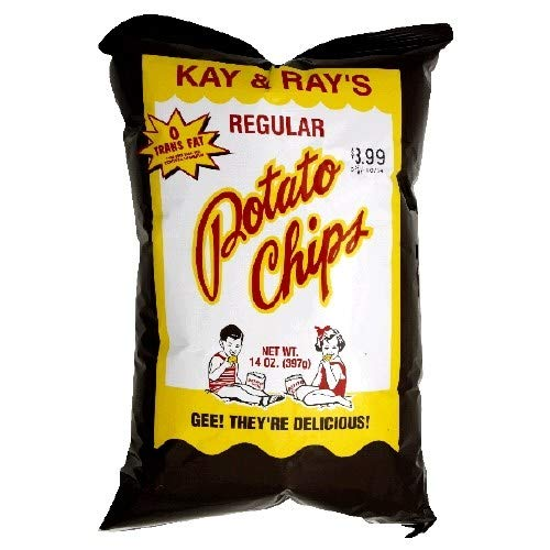(Kay & Ray's Regular Potato Chips (3 14OZ Bags))
