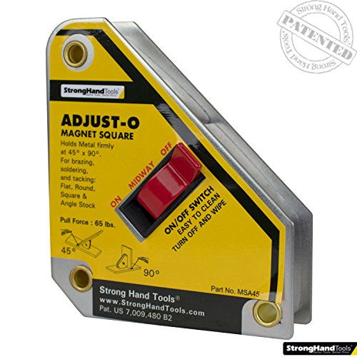 Strong Hand Tools, Adjust-O Magnet Square, 4-3/8