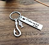 JUPPE Fishing Lure Hook Keychain You Have My Heart