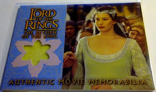 Lord of the Rings the Two Towers Authentic Movie Memorabilia Cards Arwen's Coronation (Arwen Outfits)