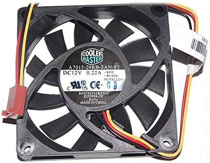 Ayazscmbs Compatible para Cooler Master 7cm A7015-29RB-3AN-F1 ...