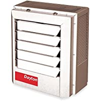 Dayton 10kW Electric Unit Heater, 1 or 3-Phase, 208V, 2YU71