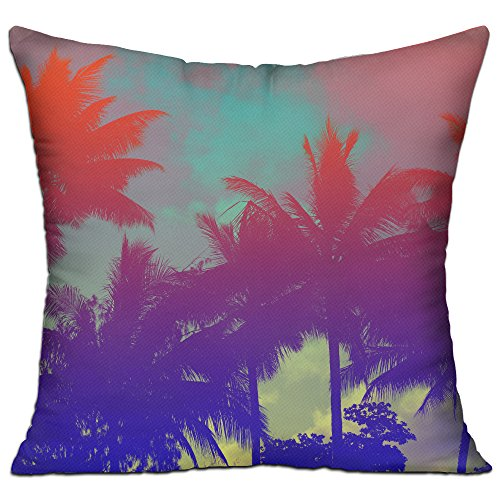 Amy Sofa (AMY WILDER Tropical Palm Tree Pillow Dakimakura Soft Ventilated Bed)