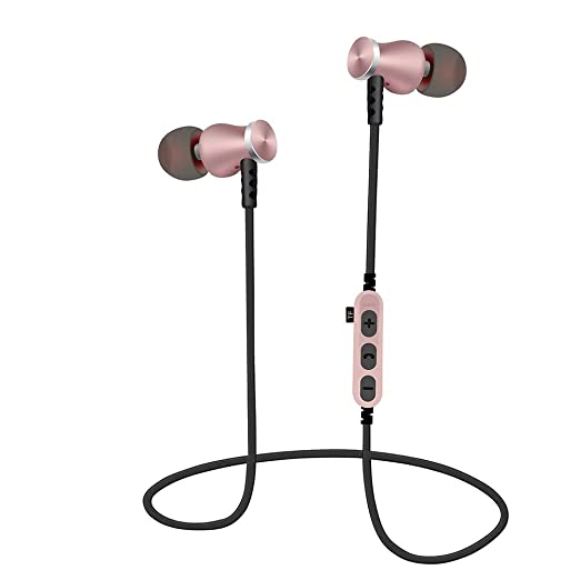 NLGToy BT4.2 - Auriculares estéreo inalámbricos con Soporte para ...