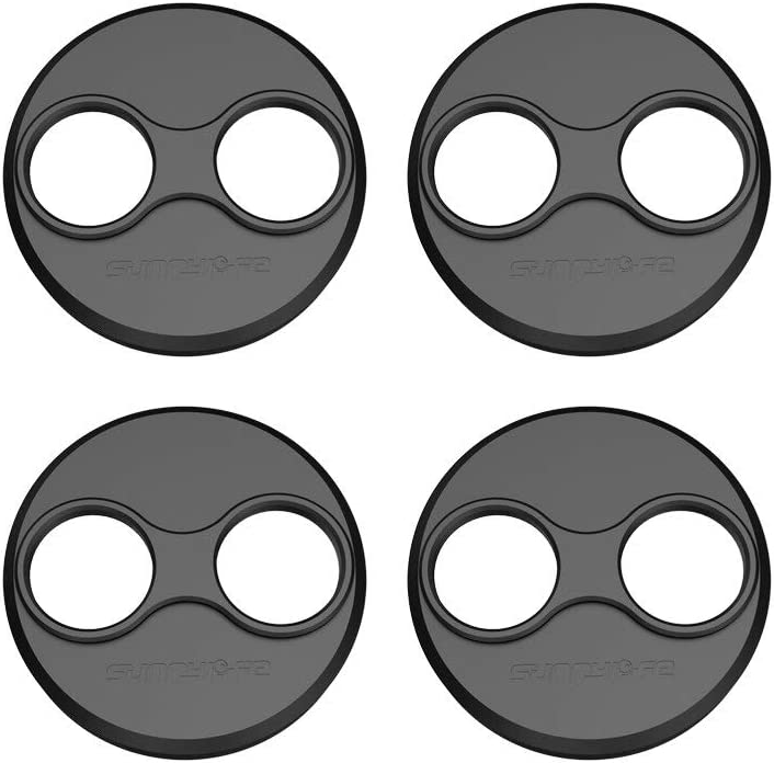 4Pcs//Set Aluminum Alloy Motor Covers Dustproof Protection Cover Guard Cap for Mavic Mini Black