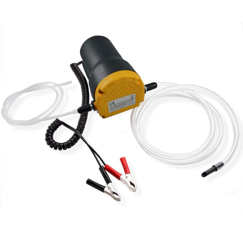 LINGJUN /Ölabsaugpumpe 12V Absaugpumpe 60W /Ölpumpe Kraftstoffpumpe Dieselpumpe /Ölwechsel