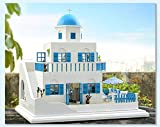Kit main Dollhouse Set miniature TRIP Grece Santorin DOUX