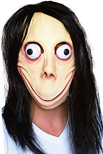 Facts About Halloween Masks (MOMO Halloween MASK Props - Creepy Horror Scary Latex Realistic Full Head with Wig Cosplay Costume Mask Decoration Party)