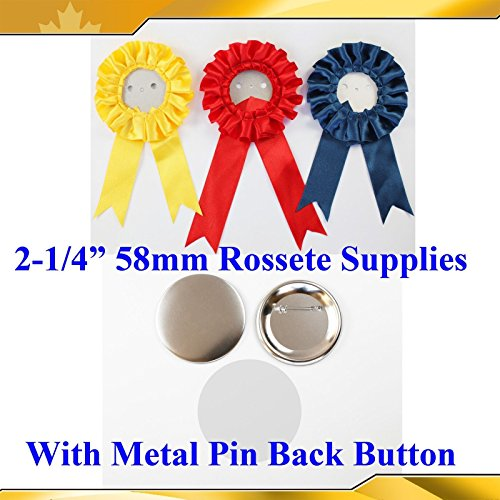 Pleated Rosette Ribbon - 4