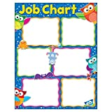 "Trend Enterprises Inc. Job Chart Owl-Stars! Learning Chart, 17"" x 22"""