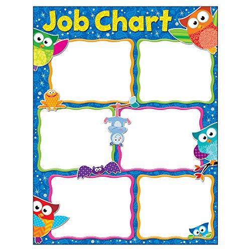 Trend Enterprises Inc. Job Chart Owl-Stars! Learning Chart, 17