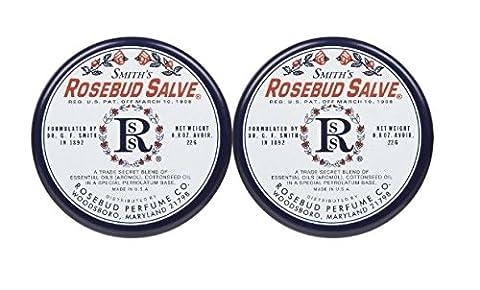 Rosebud Perfume Co. Lip Salve-Rosebud, 2 pack - Rosebud Salve