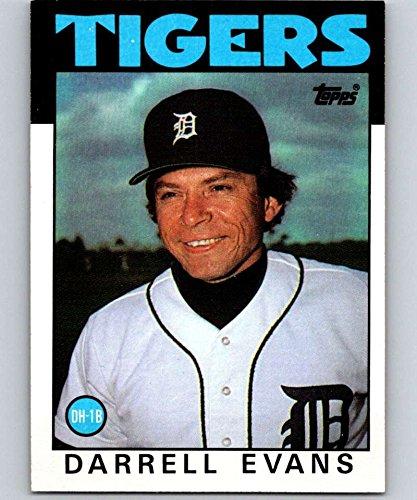 1986 Topps #515 Darrell Evans Tigers MLB Baseball