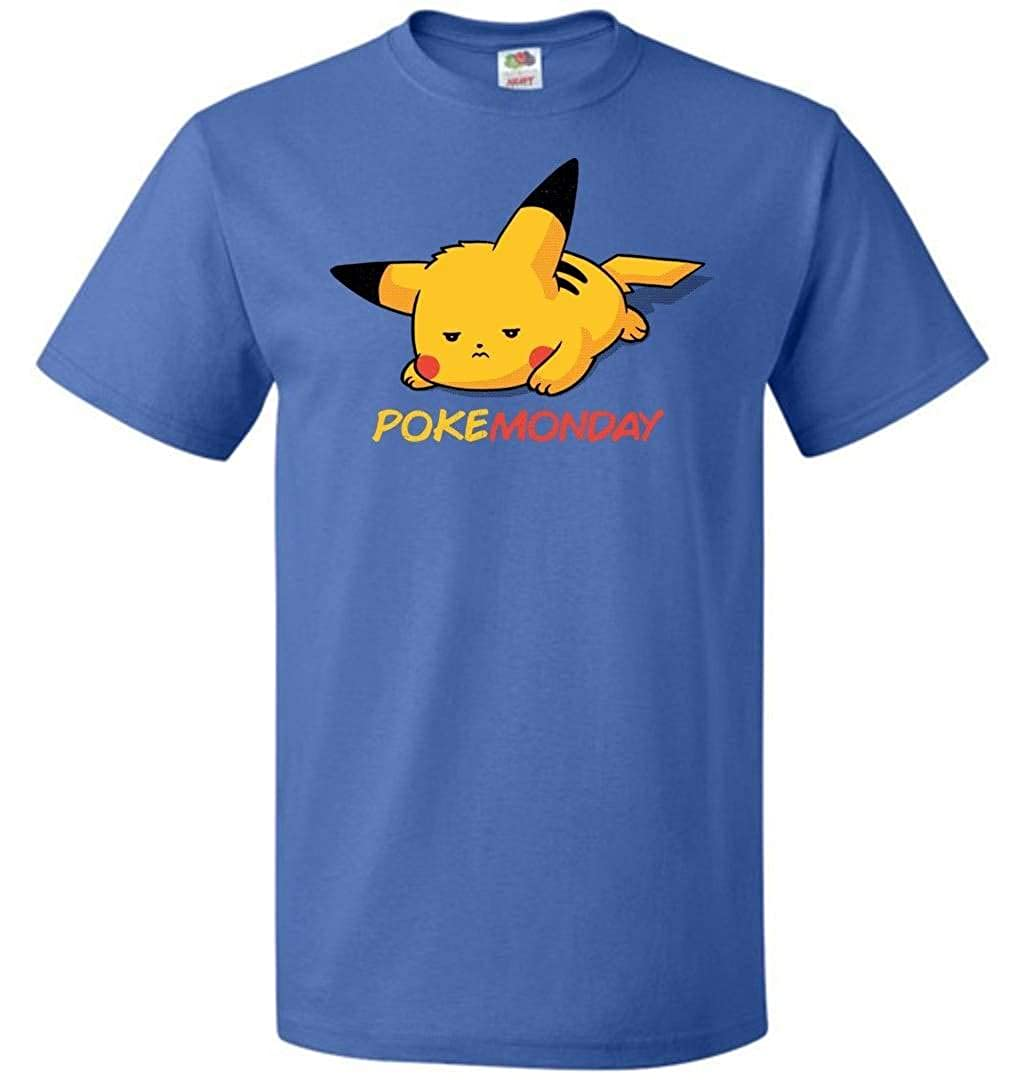 PokeMonday Unisex T-Shirt Pop Culture Graphic Tee Nerdy Geeky Apparel