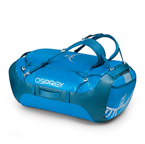 Osprey Packs Transporter 130 Expedition Duffel, Kingfisher Blue, One Size by Osprey
