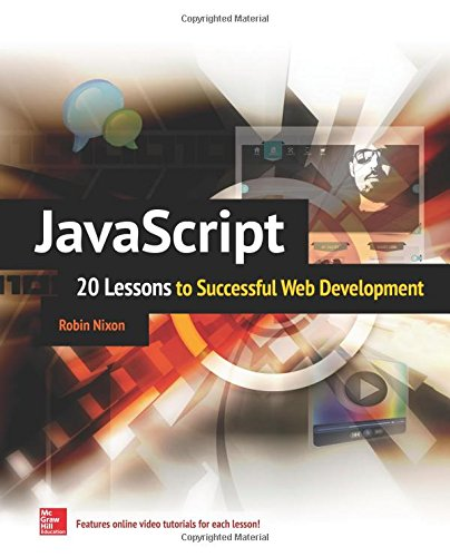 Download JavaScript: 20 Lessons to Successful Web
