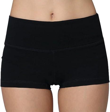 iLoveSIA® Femme Short sans Couture Shorty Fille élastique Confortable multiusage