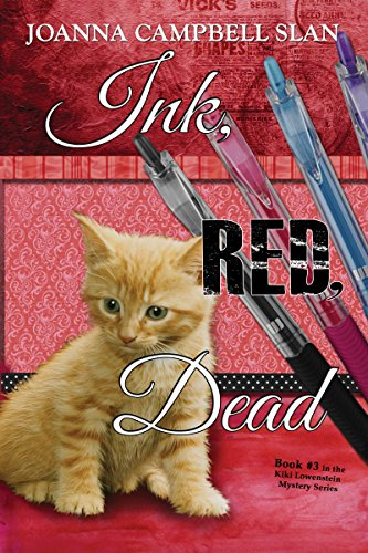 Ink, Red, Dead: Book #3 in the Kiki Lowenstein Mystery Series (A Kiki Lowenstein Scrap-N-Craft Mystery) cover