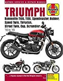 Triumph Bonneville T100, T120, Speedmaster, Bobber, Speed Twin, Thruxton, Street Twin, Cup, Scrambler: 16 to 19